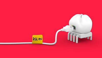 DSLAN logo