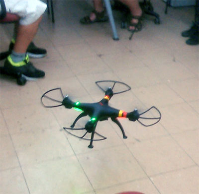 Quadcopter at Dim Sum Labs