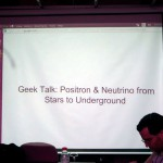 Positron & Neutrino from Stars to Underground by Data Ng