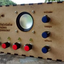 Made at DSL: Auduino 4-step sequencer